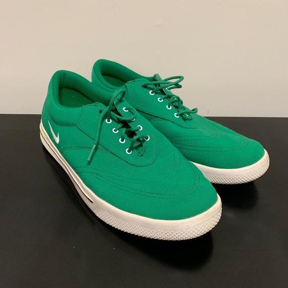 nike lunar swingtip canvas golf shoes